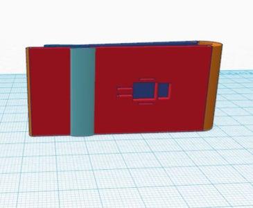 3D Printable Robot Money Clip With Grip