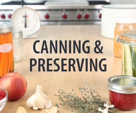 Canning and Preserving Class