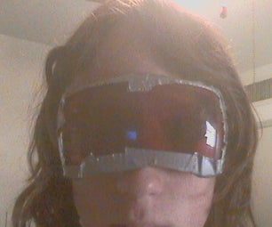 Awesome Biking Sunglasses From an Old Alarm Clock