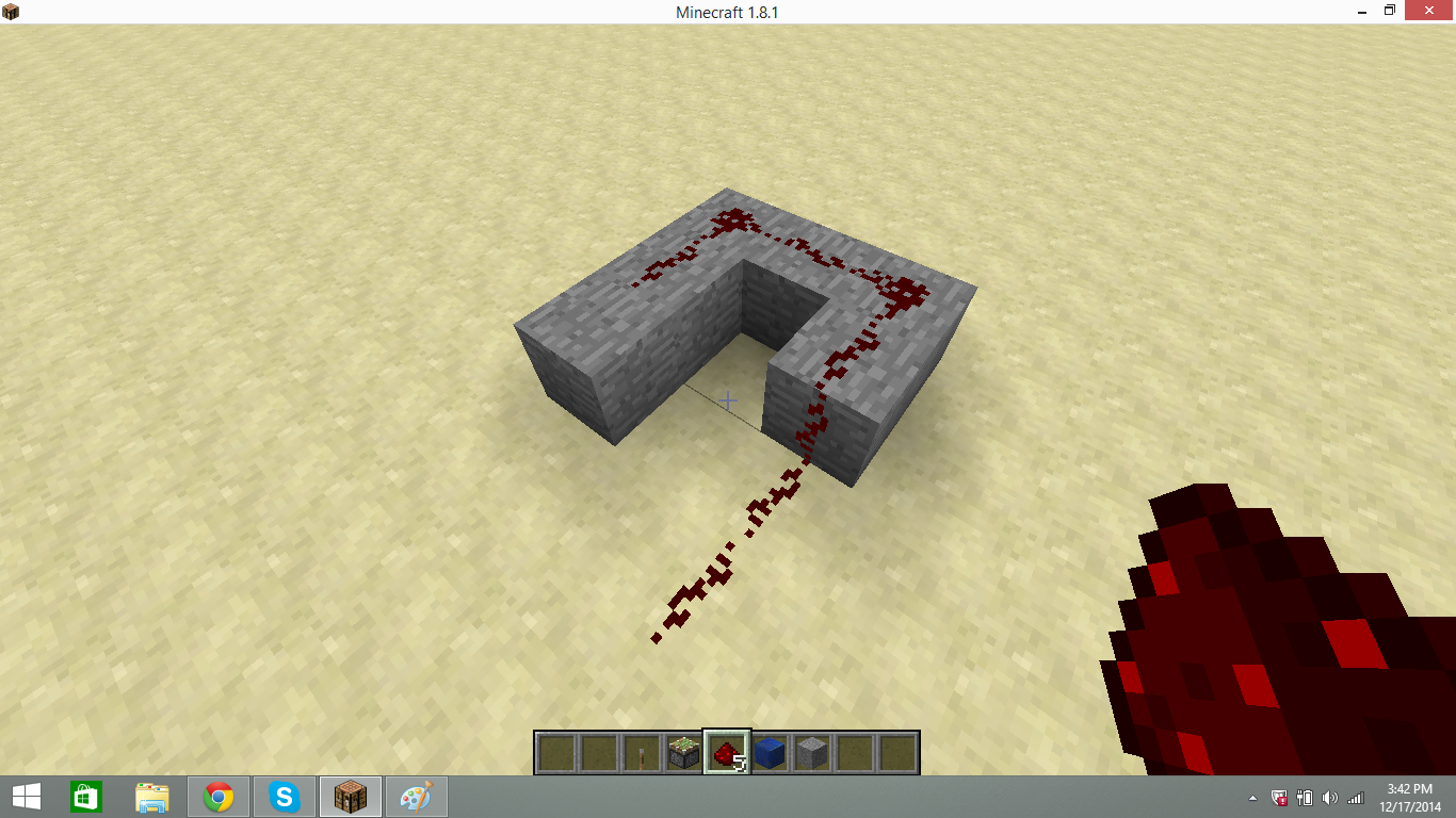 Picture of Base and Redstone