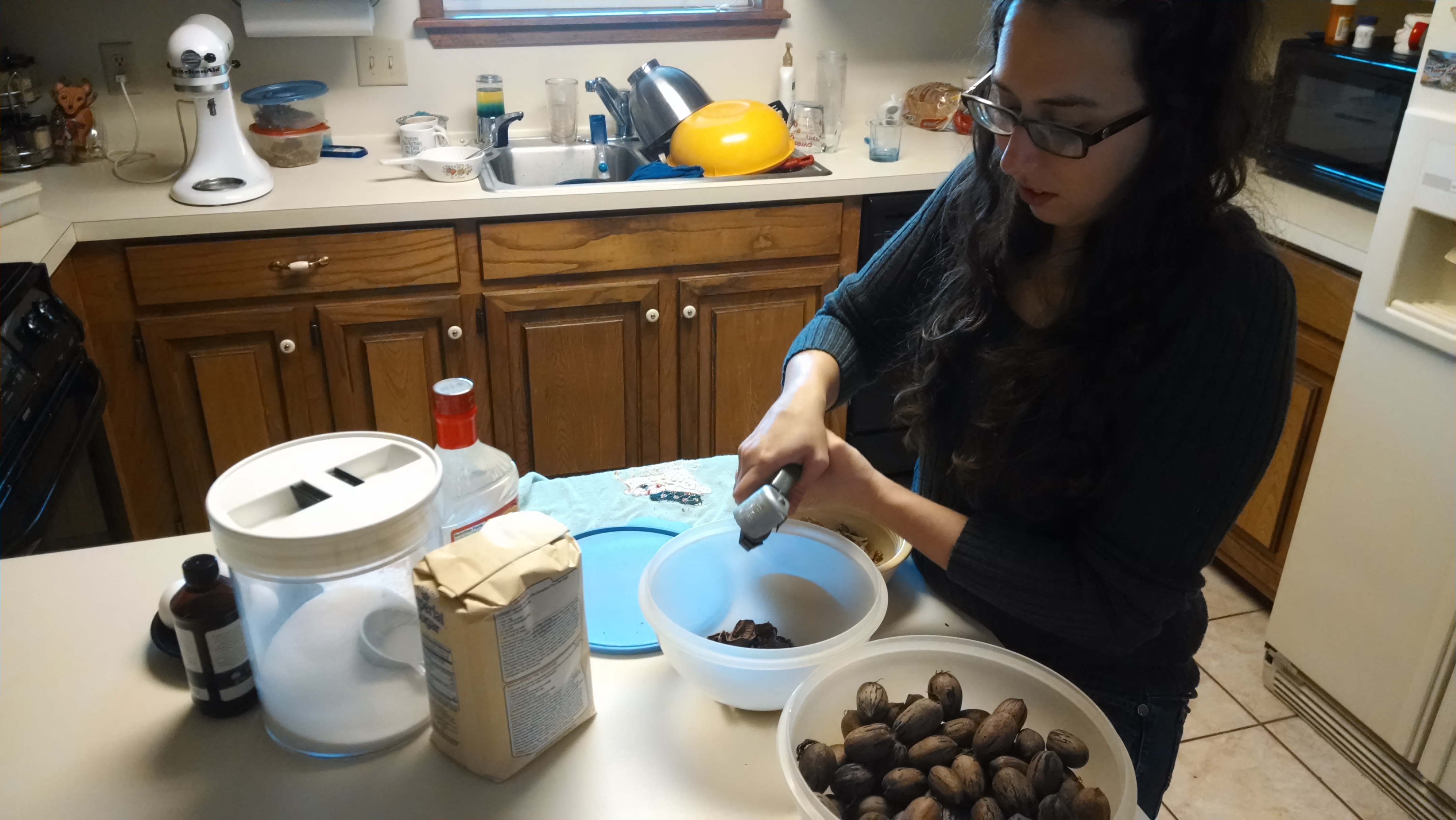 Picture of Prepare the Eggs and Pecans