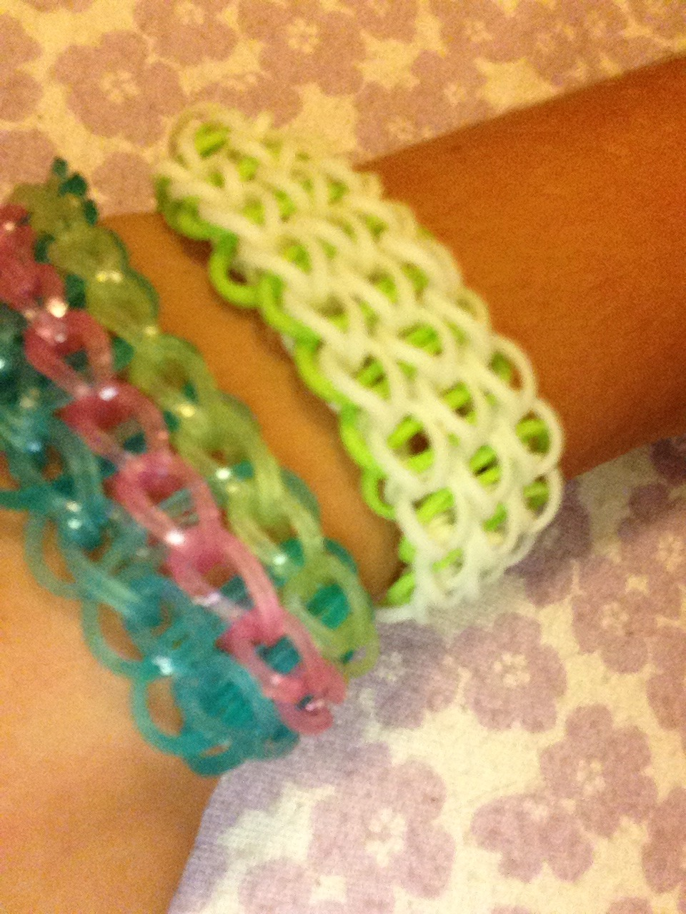 Picture of Rainbow Loom Single Triple Bracelet