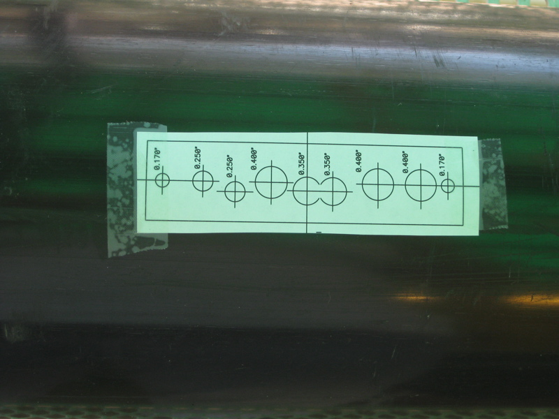 Picture of Drill the Amplifier Holes