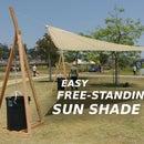 Easy Free-Standing Sun Shade