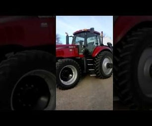How to Drive a 2008 Case IH Magnum 215 Tractor