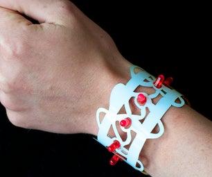 Lasercut BraceLED Bracelet