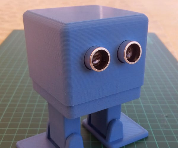 MiniZowi Bluetooth Dancing Controled Robot.