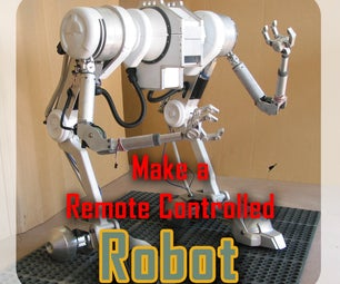 Make a RC Robot for a Movie