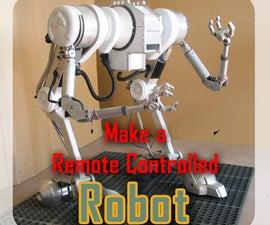 Make a RC Robot for a Movie