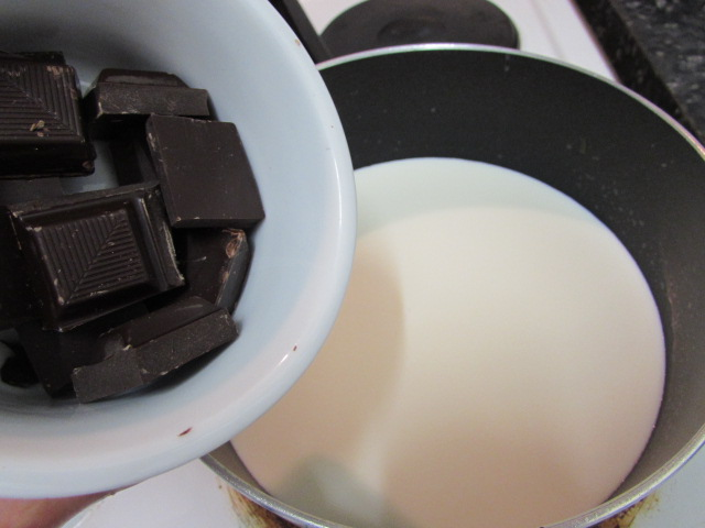 Picture of Chocolate Custard (Filling)