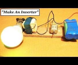 Simplest Inverter With Just a DC Motor 12V to 220V AC || Original Idea