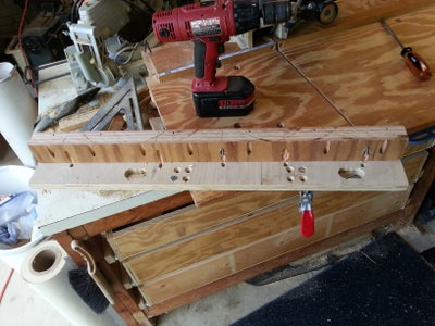 Locate Clamps, Drill Holes & Attach Clamps
