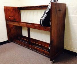 Viola & Violin Rack for Middle School Orchestra