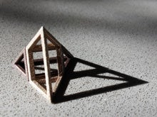 'Impossible' Pyramid Puzzle - Material Samples for 3D Printing