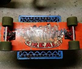 reclaim an old skateboard