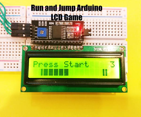 Run and Jump Arduino LCD Game