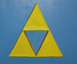Wall Triforce