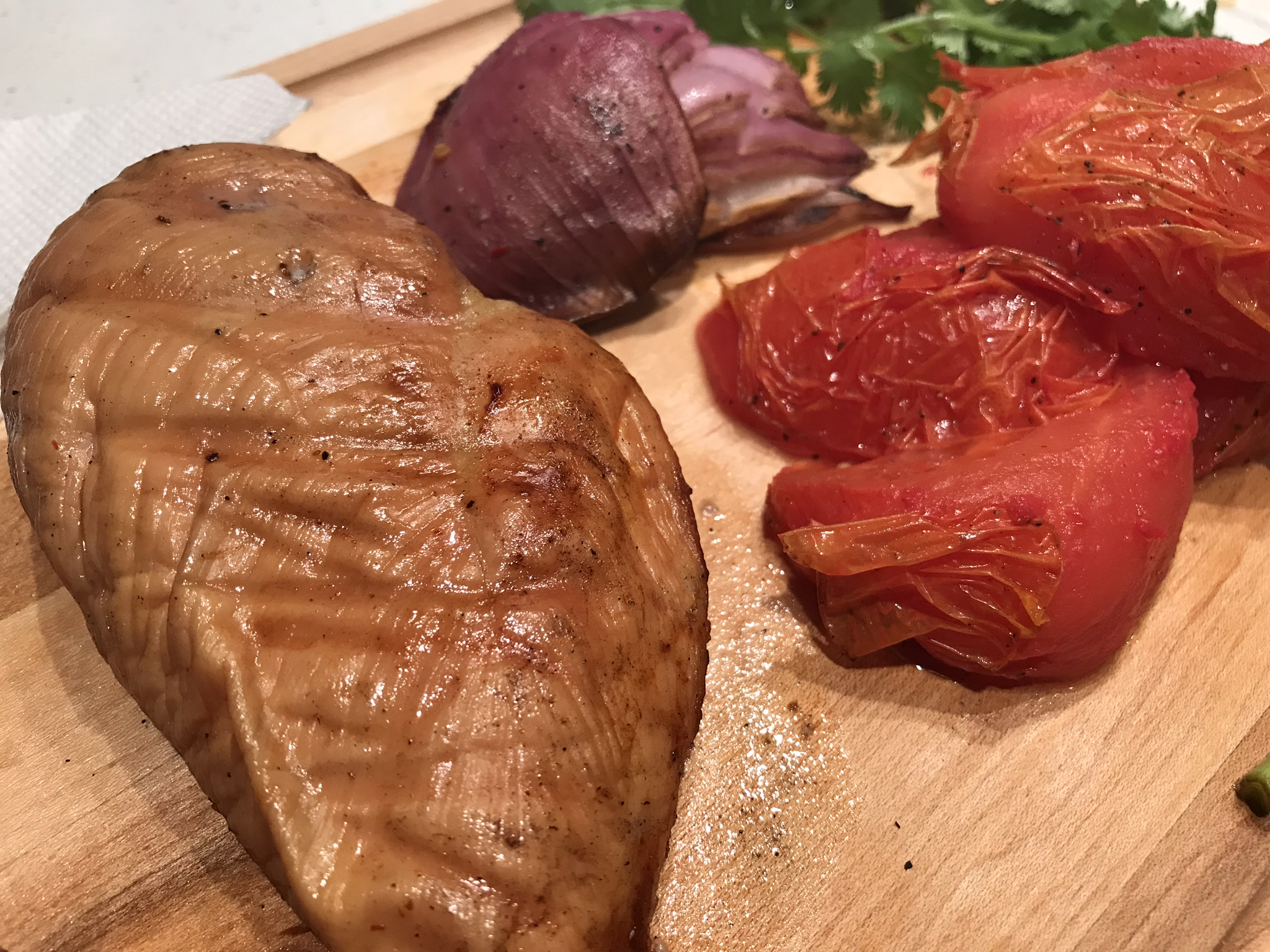 Picture of Smoked Chicken Breast Using Unconventional Marinade