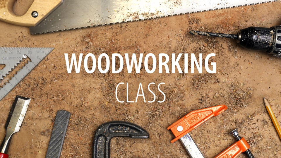 Free Online Woodworking Class