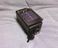Solar Powered Cell Phone Charger