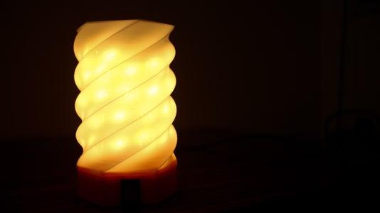 DIY 3D Printed Desk Lamp