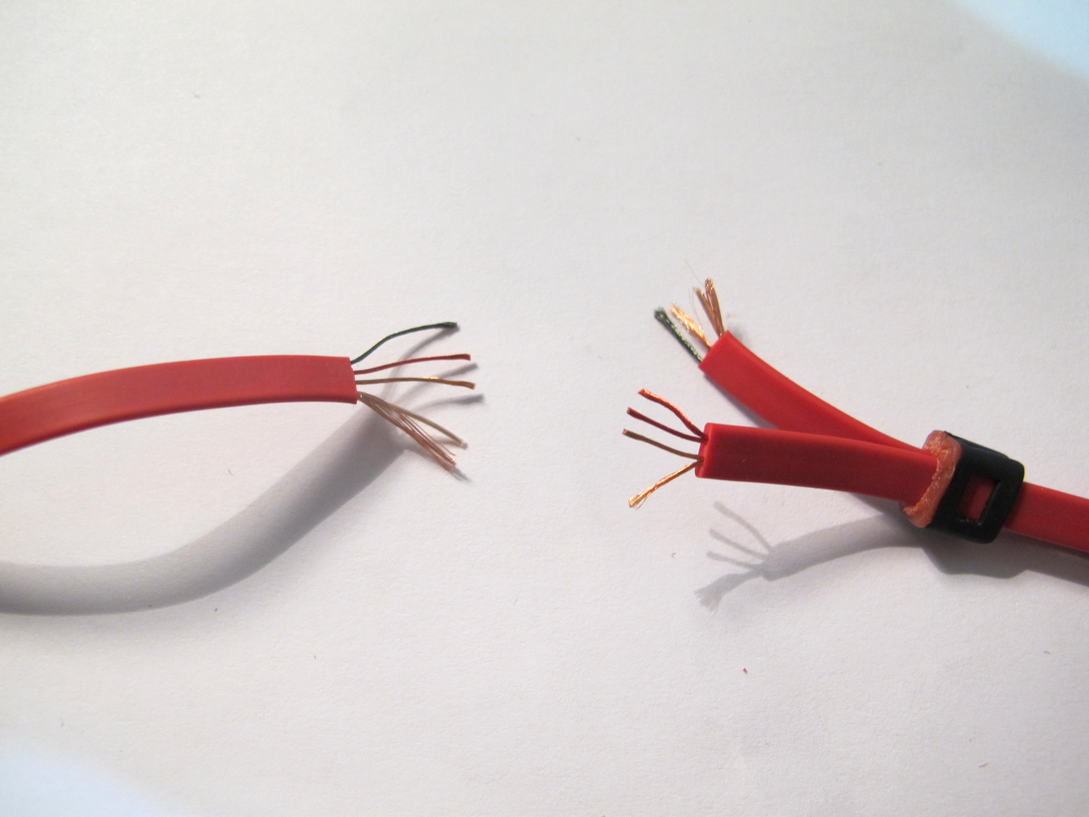 how to repair busted headphones 8 steps pictures prepare wires for ering