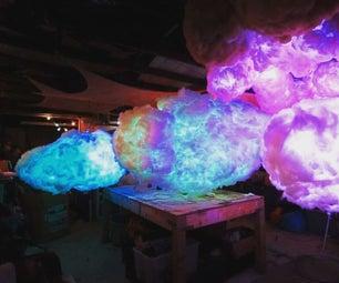L.E.D Cloud Lamp