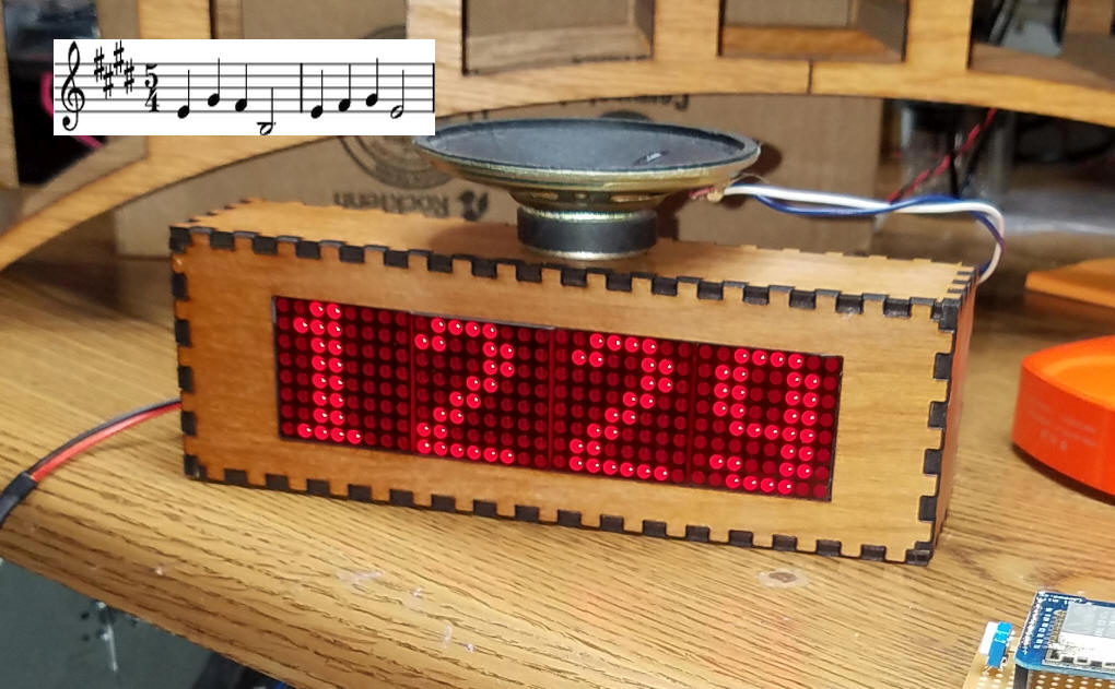 Picture of WiFi Connected Clock With Westminster Chimes