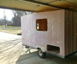 My Foam Built Micro Camper