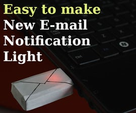 New E-mail Notification Light
