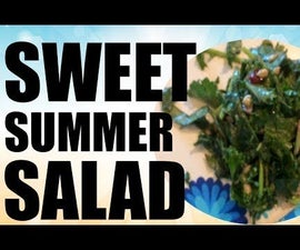 Cool Down With a Sweet Summer Salad: Perfect for Summer Cookouts!
