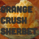 Orange Crush Sherbet