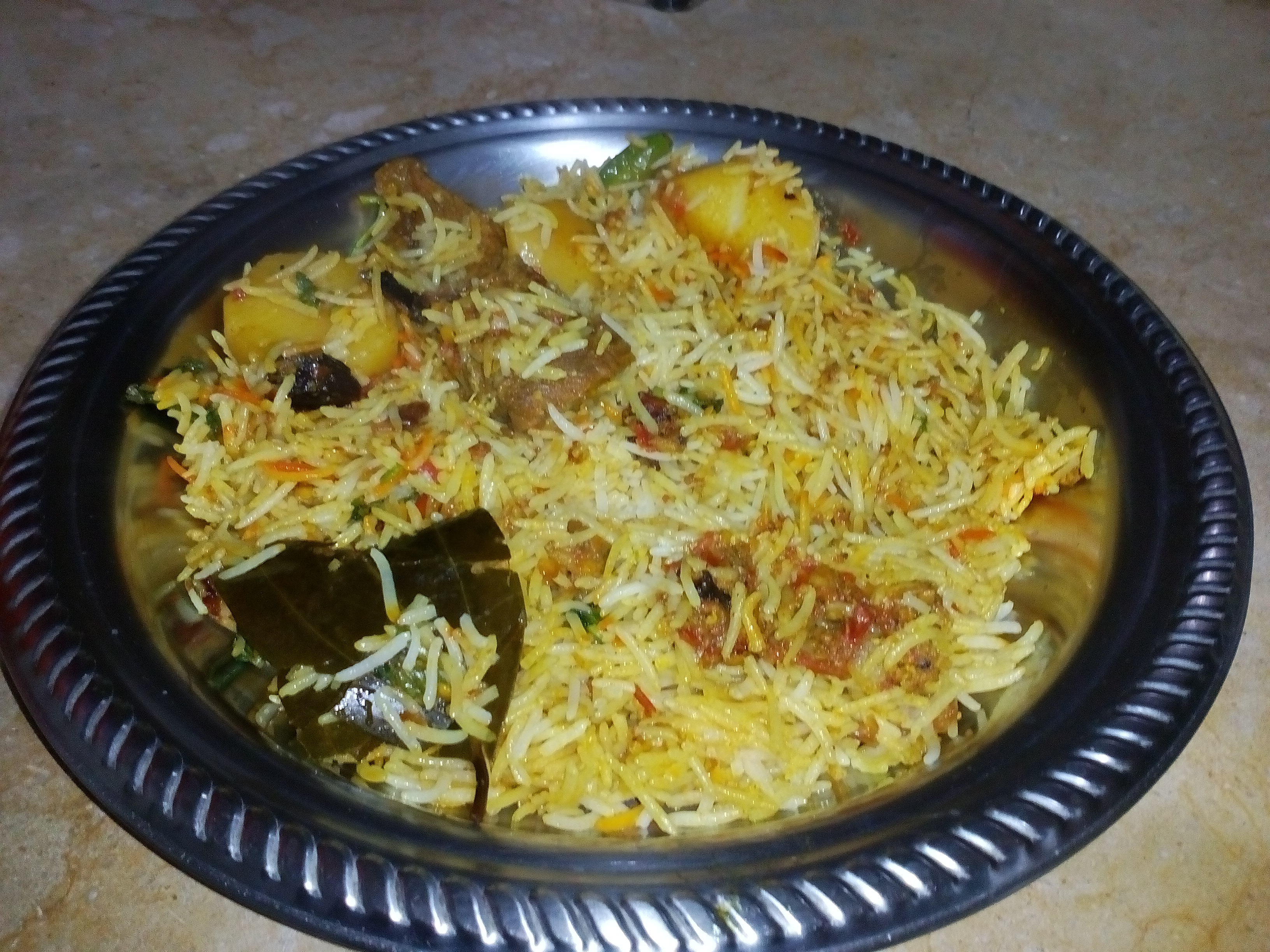 Picture of Bombay Beef Briyani Recipe Homemade Masala