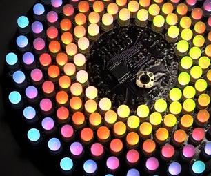 Aurora 9x18 RGB LED Art