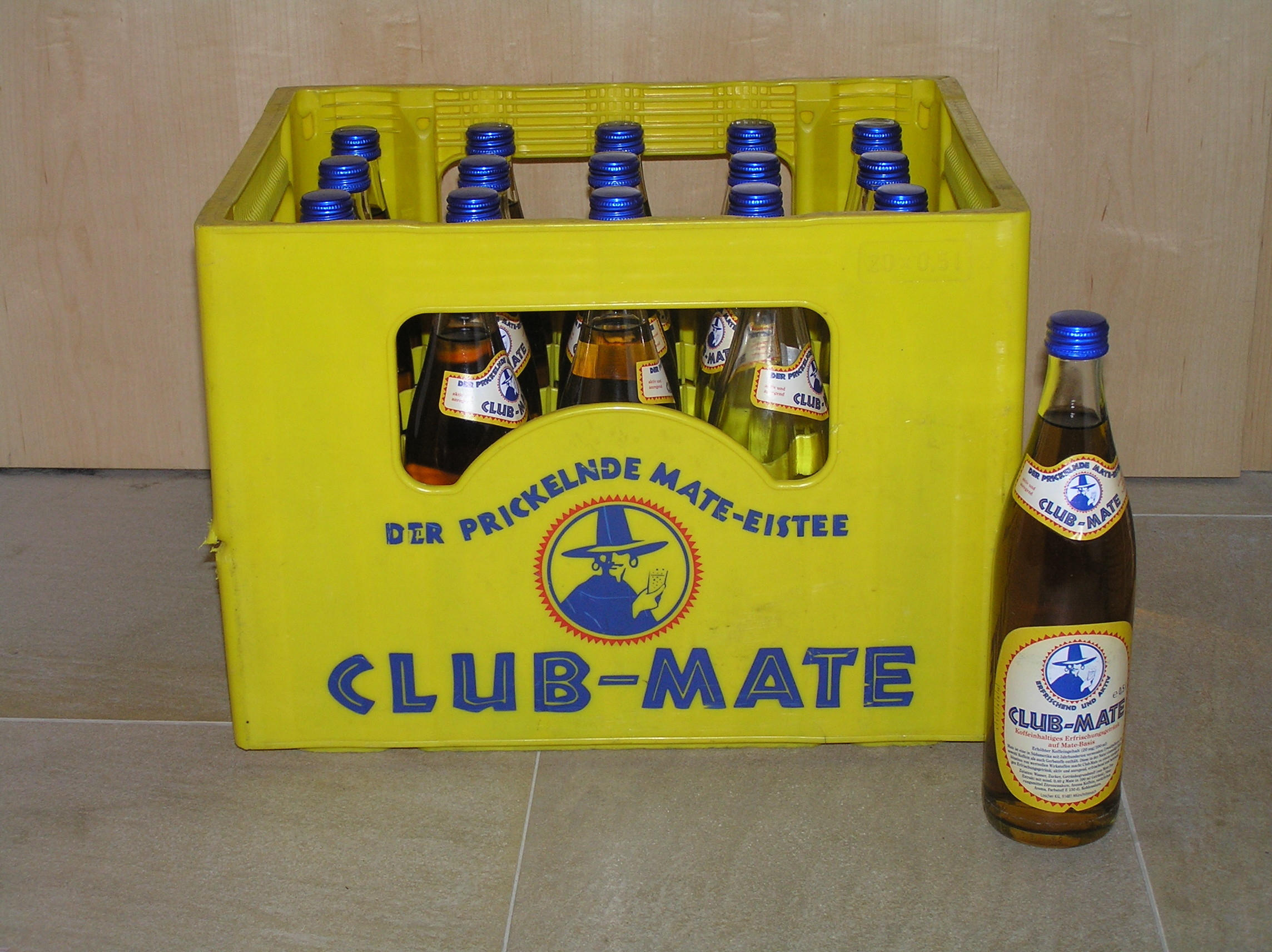 Picture of Any Club-Mate drinkers out there in the NYC area?