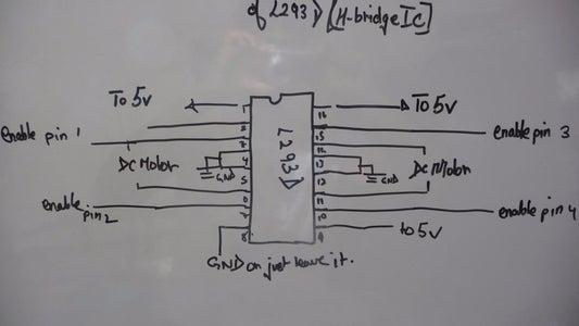 White Board Schematic