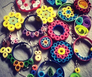 Quilling Earrings: Simple and Pretty!