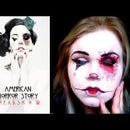 American Horror Story Freakshow Makeup Transformation