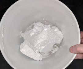 Recycling Styrofoam (EPS) Into Castable Styrene Plastic at Home