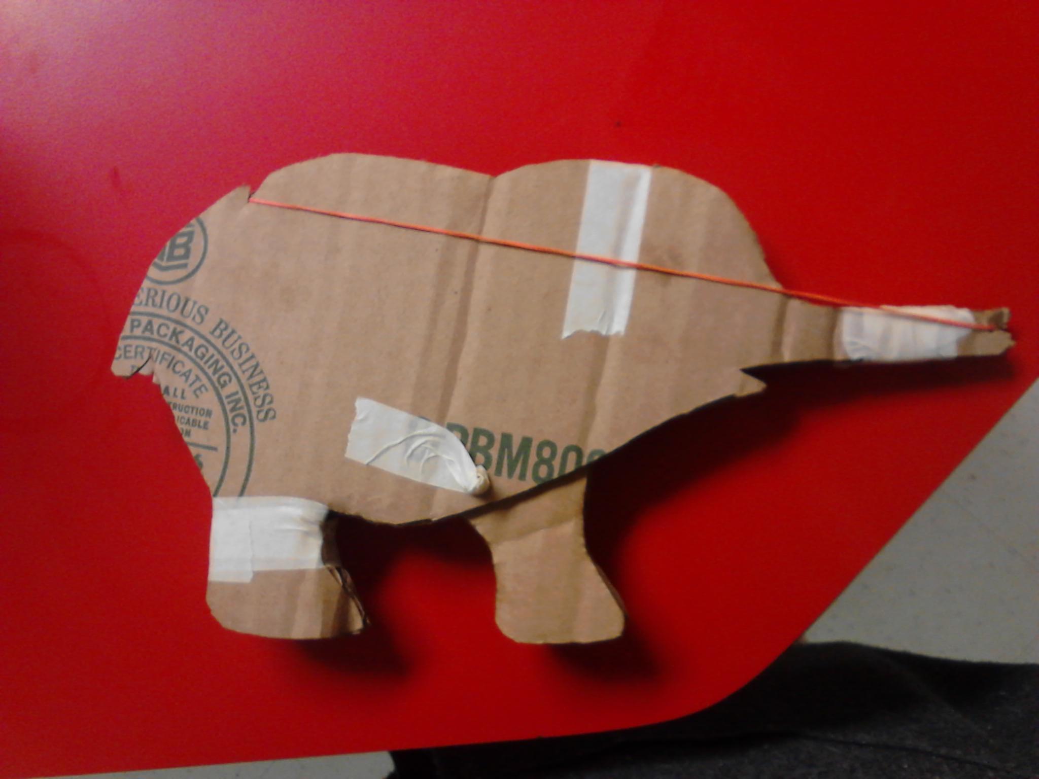 Picture of Elephant Elastic Launcher
