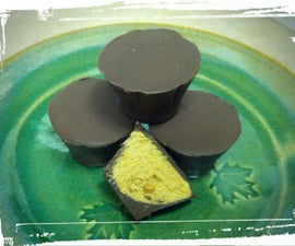 Healthier-For-You Peanut Butter Cups (& Wine Bonbons!)