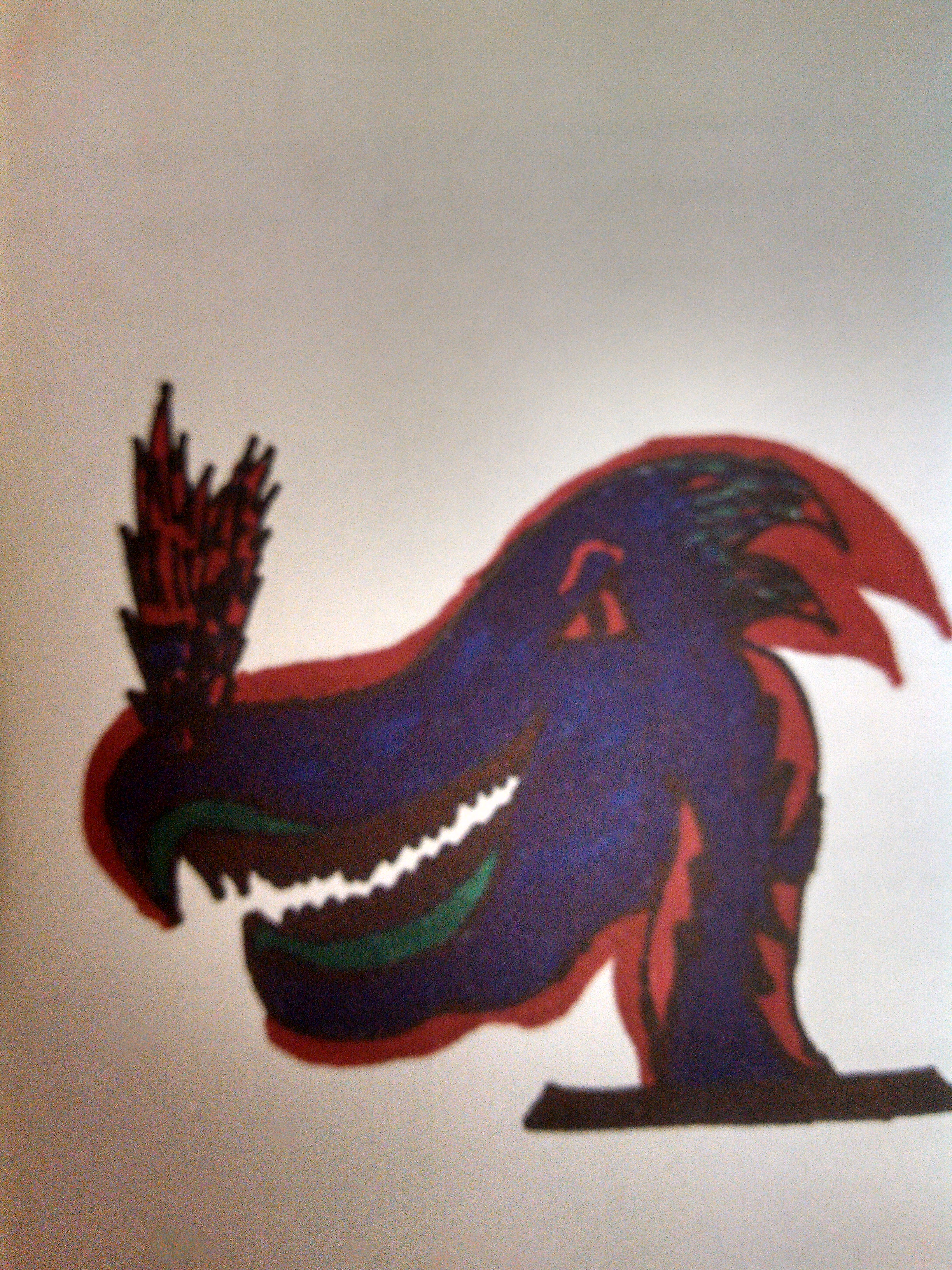 Picture of Completing the Dragon Head