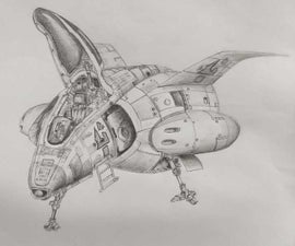 Sketching a Space Craft