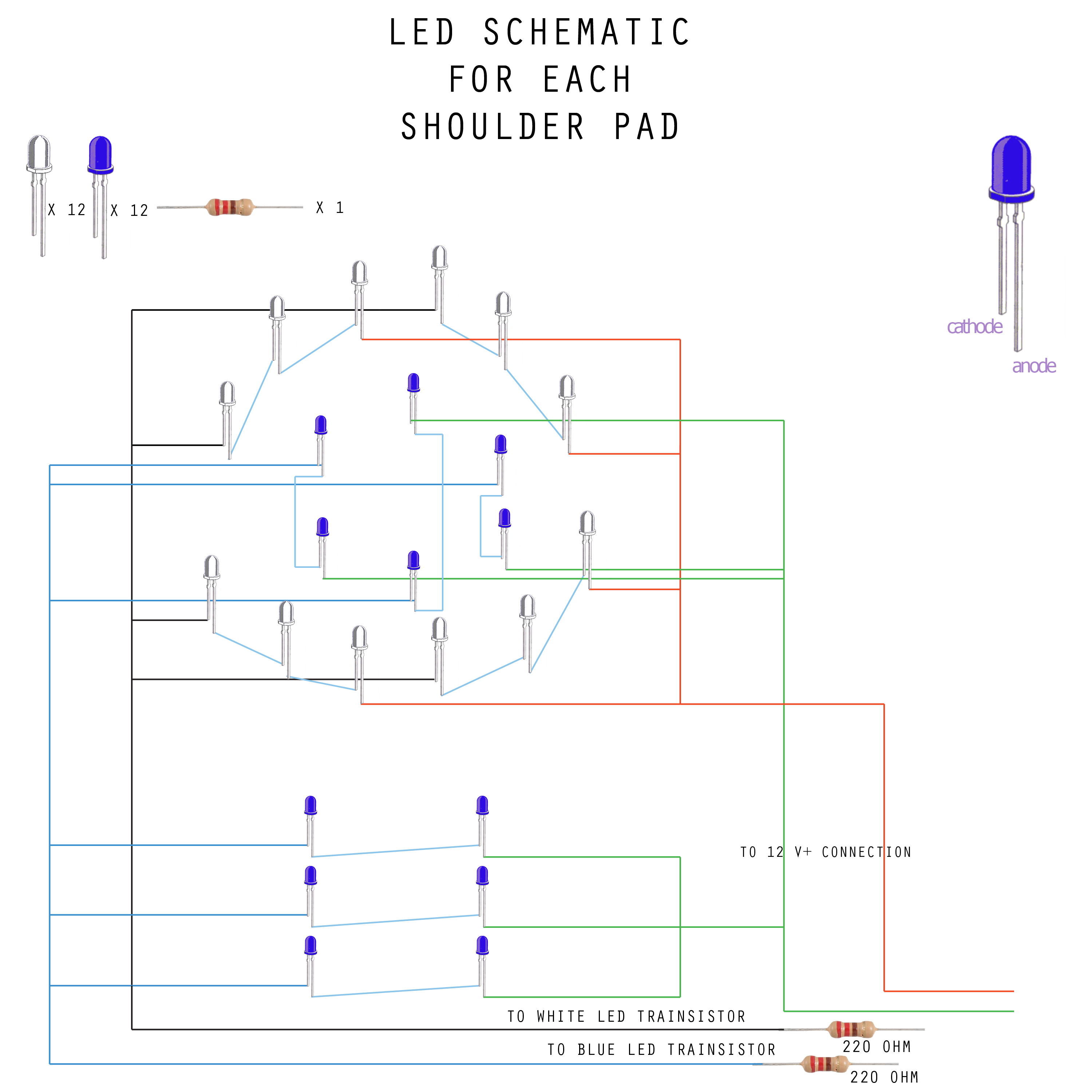 Picture of Wire Your LEDs