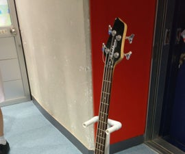 PVC Guitar Stand