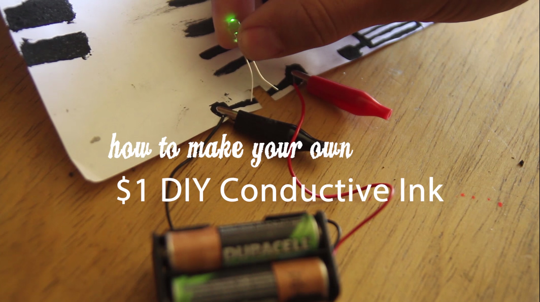Picture of $1 DIY Conductive Ink and Paint From Fire! (non Toxic, Homemade, Cheap)