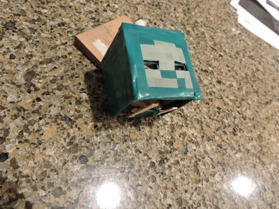 A Minecraft Zombie Nightlight