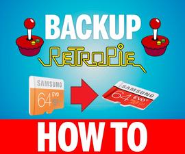How To Backup Retropie 4.1 SD Card Setup from Raspberry Pi