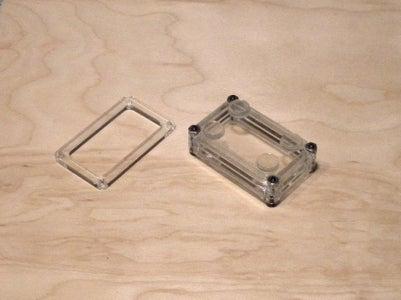 Stacked Plexiglass Enclosure Case Using OpenSCAD