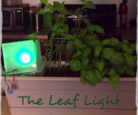 Leaf Light: An Indoor Garden Monitor